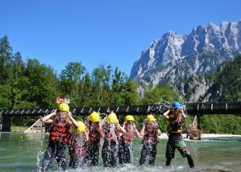 Family Rafting in the Gesäuse © rafting.at